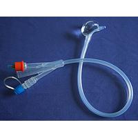 限制接触型侧球囊一次性硅胶导尿管