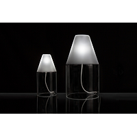 Ignis, collection of crystal glass lights