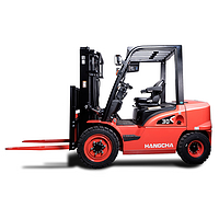 The new X series Hangcha forklift