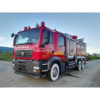 SJD5340GXFPM10/SDA Foam Fire Truck