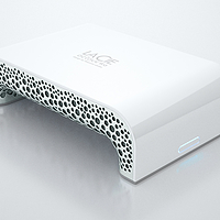 3D Metal Printed Hard Drive Enclosure Concept for LaCie